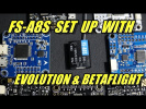 FS-A8S: Wiring & Betaflight Set Up (Ibus/PPM)